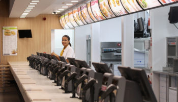 McDonald's Flagship Olympic Park Restaurant Prepares For Opening
