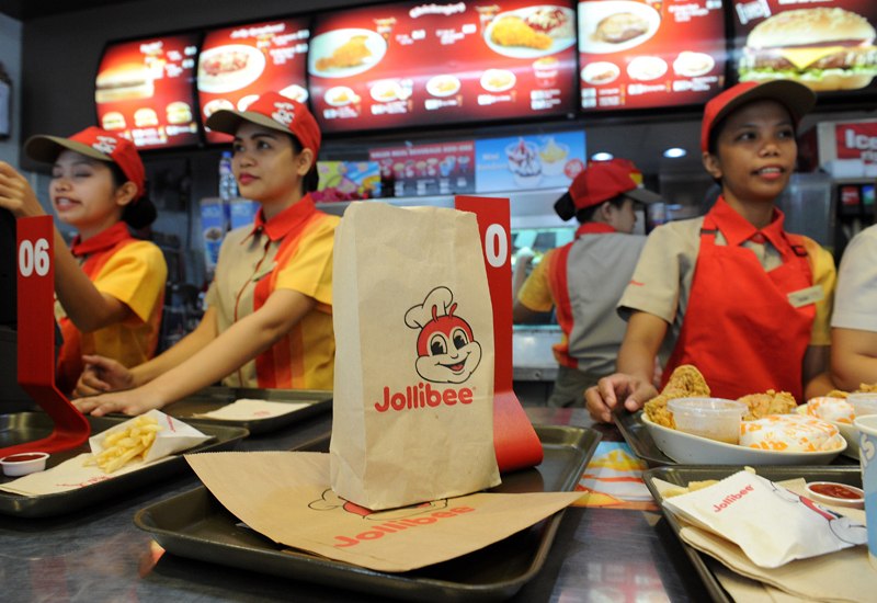 PHILIPPINES-US-FOOD-INDUSTRY-BUSINESS-JOLLIBEE