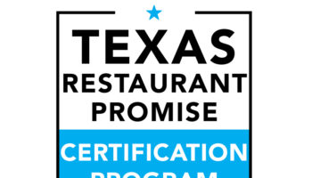 Texas Restaurant Promise Certification Program