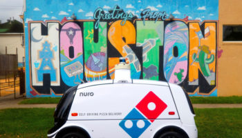 Domino Nuro autonomous pizza delivery